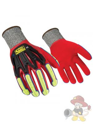 Ringers THL Handschuh 068 R-Flex CUT5 Leuchtfarbe