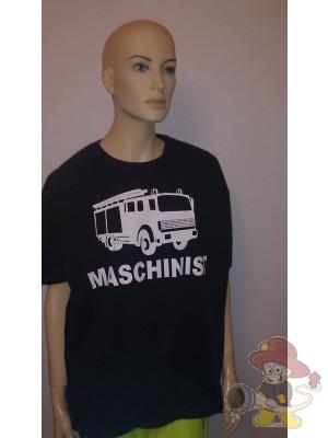 Feuerwehr Shirt Maschinist