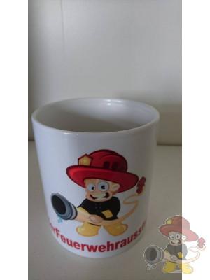 Kaffee Tasse der Feuerwehrausstatter