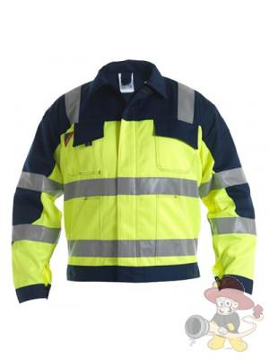 Einsatz Bundjacke Fluoreszierend nach EN 471 und ISO 20471
