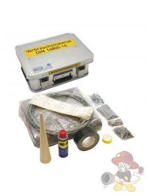 Verbrauchsmaterialkasten DIN 14800-VMK, komplett in Firebox