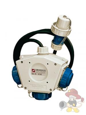 Mehrfach-Abzweigstück Deltabox, 230V druckwasserdicht