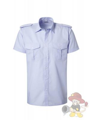 Diensthemd, kurzarm, blau Gr.42