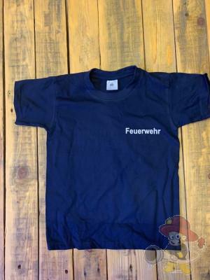 Shirt Feuerwehr Größe 122-128 Kinder