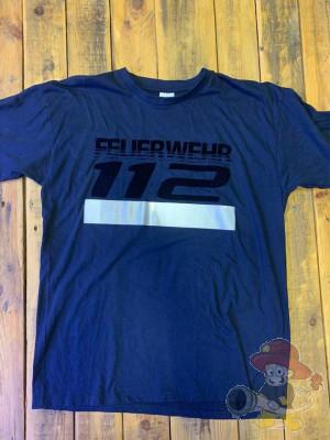 Feuerwehr T-Shirt 112 Größe L