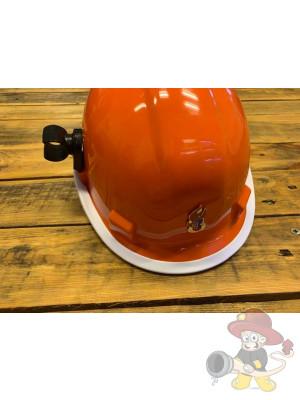 Helmlampenhalter für Jugendfeuerwehrhelm und Arbeitsschutzhelm