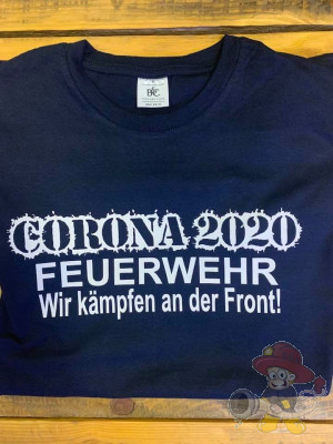 Corona T-shirt FEUERWEHR