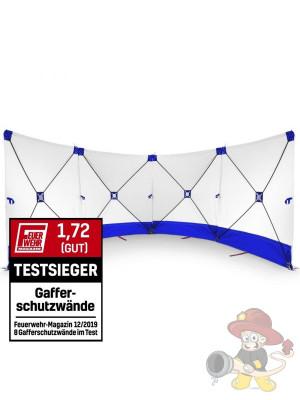 Unfallsichtschutzwand VarioScreen-Sichtschutzwand Weiß/Blau