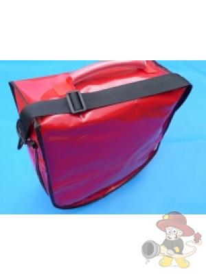 Hochhaustasche, Material Polymar rot