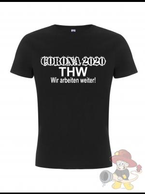 Corona T-shirt THW