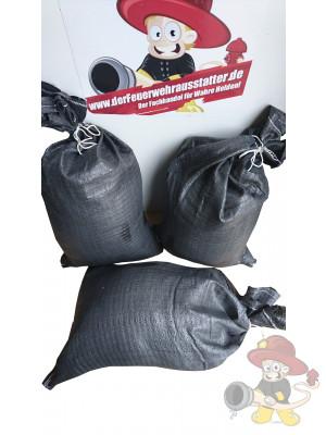 Sandsäcke aus PP Kunststoff mit Bändchengewebe 30 x 60 cm extra stabil