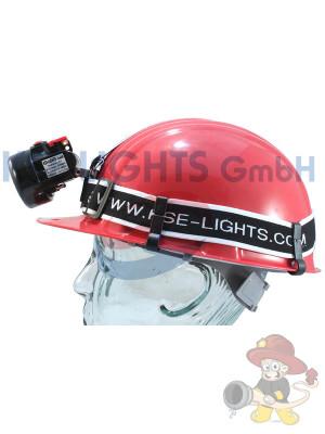 Helmband zur Befestigung von Helmlampen