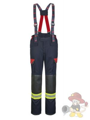 Einsatzhose Fire-Jack blue/red
