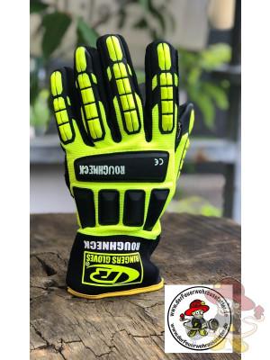 Ringers THL Handschuh R-297 ROUGHNECK Leuchtfarben Größe 9