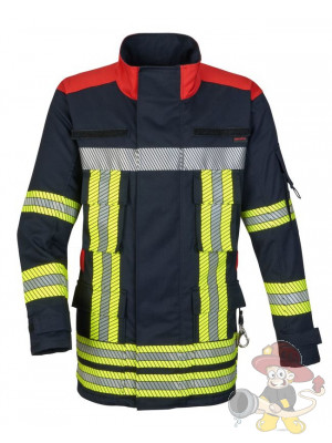 Einsatzjacke Fire-Jack blue/red