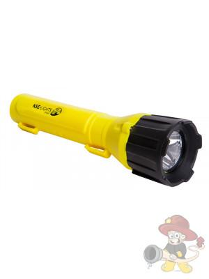 LED Taschenlampe Ex geschützt - 2-stufig, IP67 - EX 1G