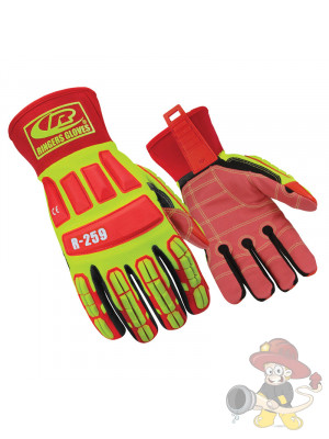 Ringers THL Handschuh R-259 ROUGHNECK Leuchtfarben