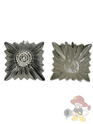 Metallstern silber 19 mm mit Splint