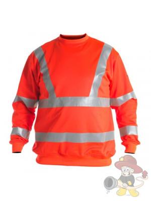Einsatz Sweatshirt nach EN 471