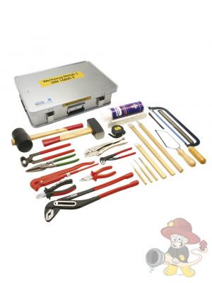 Werkzeug Metall 2 DIN 14800-WKM 2, komplett in Firebox