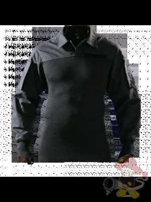Combat Shirt Schwer entflammbares Einsatzshirt mit aufgenähtem Kragen und Daumenloch