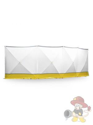 Unfall Sichtschutzwand VarioScreen-Sichtschutzwand gelb