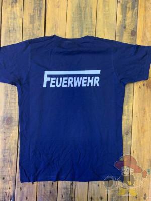 Shirt Feuerwehr Größe M