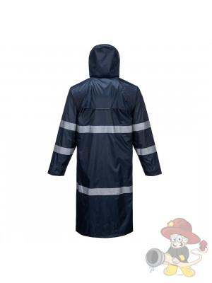 Behördenjacke Klassischer Regenmantel Marine