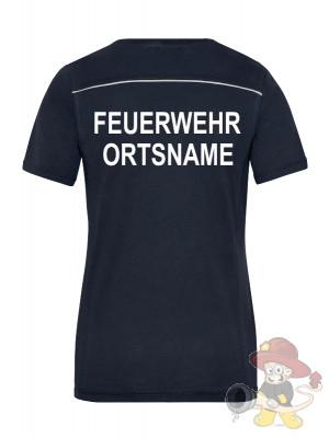Feuerwehr Damen T-Shirt - mit und ohne Druck