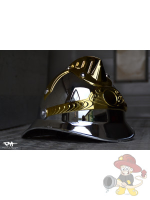 Feuerwehr Parade Helm chrom