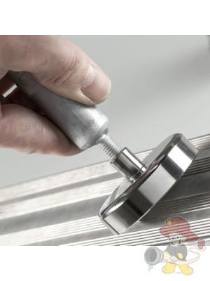 Hebel für Magnet für Unfallsichtschutzwand