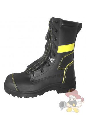 Herkules Feuerwehrstiefel 5526-2 mit gelben Reflexstreifen S3