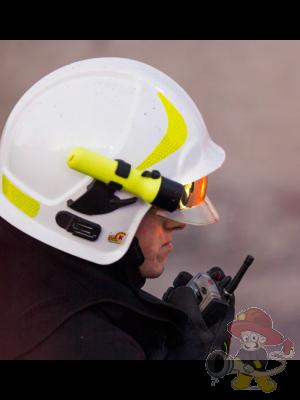 Helmlampe Cree-LED mit ATEX  und Zulassung für den Innenangriff
