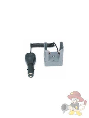 Kfz-Ladeschale mit kabellosen M-Ladesystem für Helmlampen