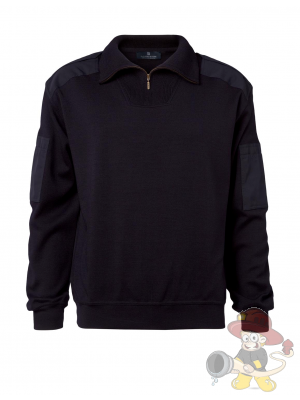 Nato Troyer Zip-Neck navy