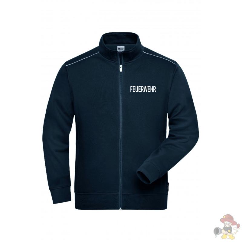 Feuerwehr Sweat Jacke mit und ohne Druck
