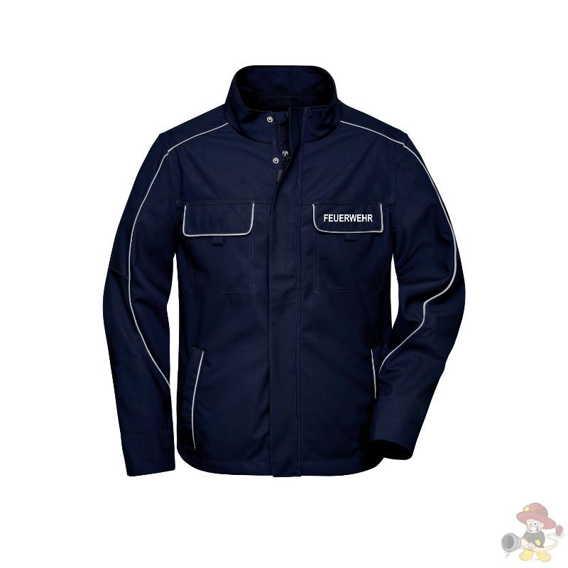 Feuerwehr Softshell Jacke leicht