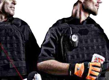 der Feuerwehrausstatter Polizei und Security